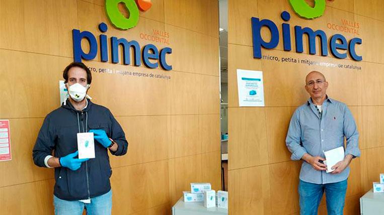PIMEC exhaureix en menys de 48 hores els termòmetres de detecció ràpida de temperatura